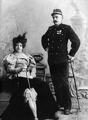 Margaretha with her husband Rudolf Mac Leod