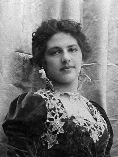 Mata Hari in the Dutch East Indies in 1900