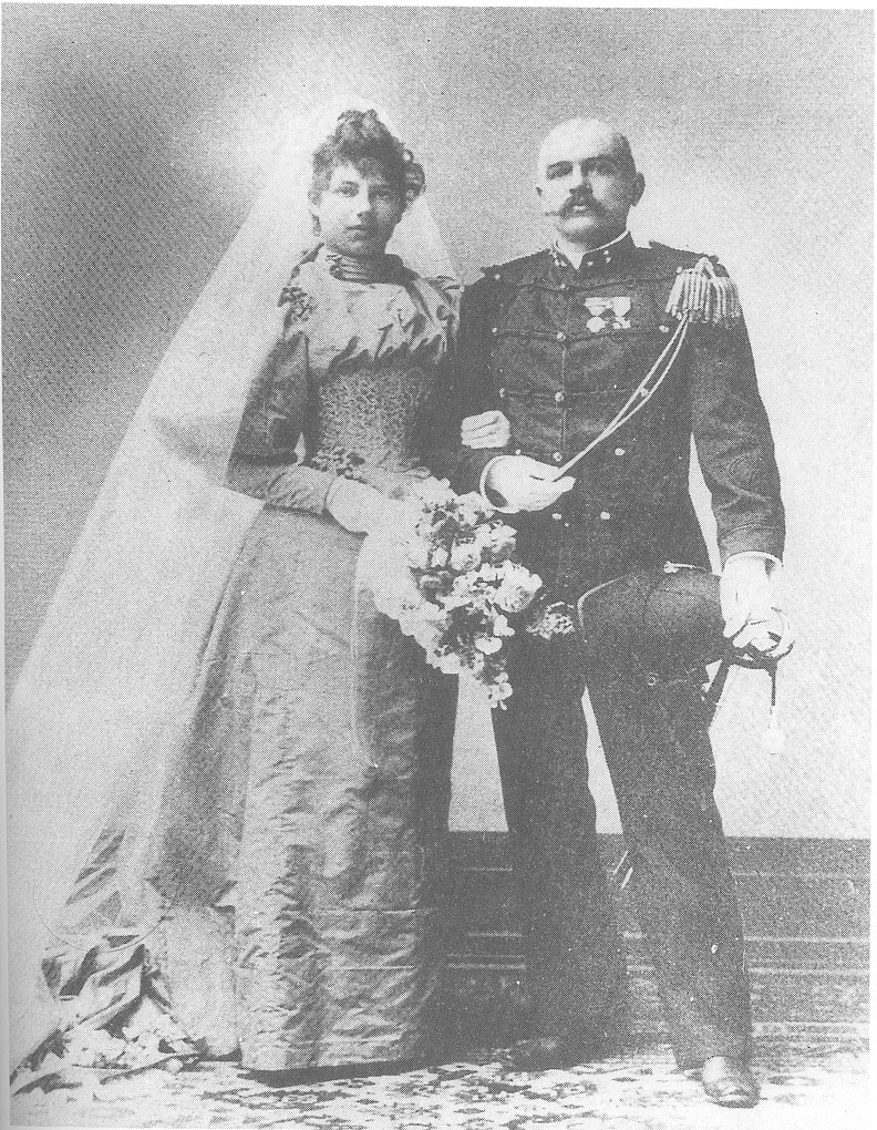 Mariage de Hata Hari avec le capitaine Rudolf Mac Leod